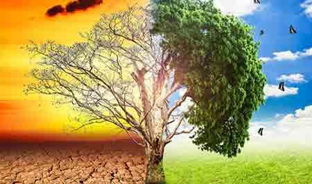 تغییرات اقلیمی بر شاخص های اقلیمی کشاورزی